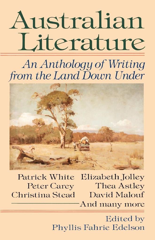 Australian Literature als Taschenbuch