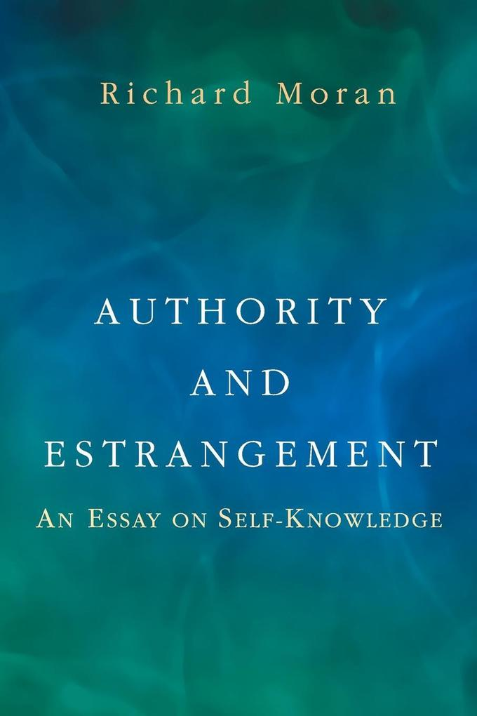 Authority and Estrangement als Taschenbuch