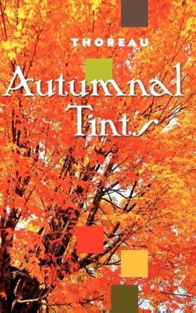 Autumnal Tints als Taschenbuch
