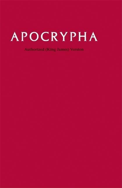 KJV Apocrypha Text Edition KJ530:A als Buch