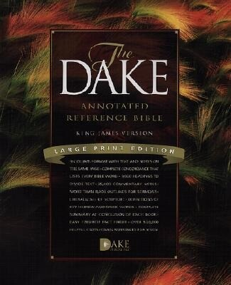 Dake Annotated Reference Bible-KJV-Large Print als Buch