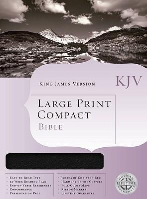 Large Print Compact Bible-KJV als Buch