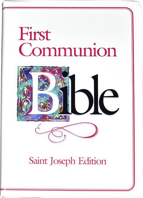 First Communion Bible-NABRE-Saint Joseph als Taschenbuch