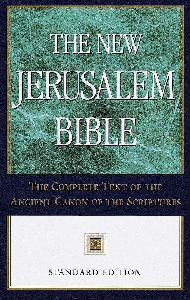 New Jerusalem Bible-NJB-Standard als Buch
