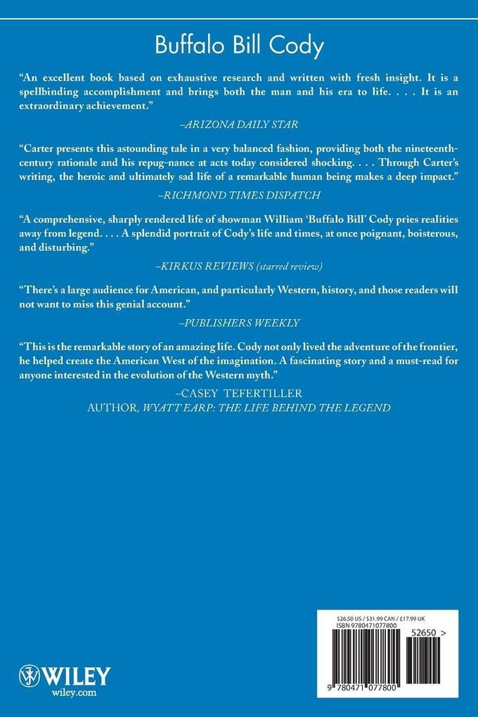 Buffalo Bill Cody: The Man Behind the Legend als Buch