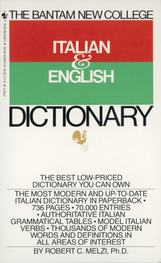The Bantam New College Italian & English Dictionary als Taschenbuch
