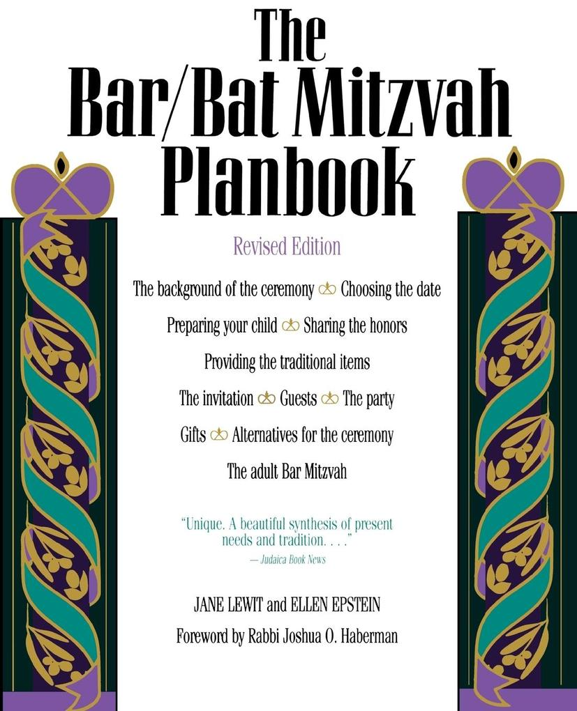 Bar/Bat Mitzvah Planbook, Revised Edition (Revised) als Taschenbuch