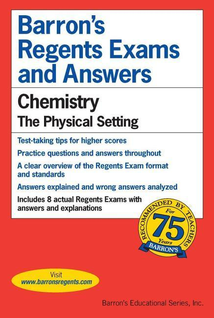 Regents Exams and Answers: Chemistry als Taschenbuch