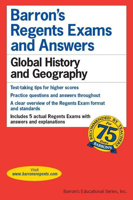 Regents Exams and Answers: Global History and Geography als Taschenbuch