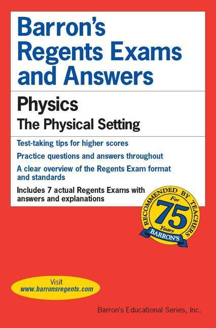 Regents Exams and Answers: Physics als Taschenbuch