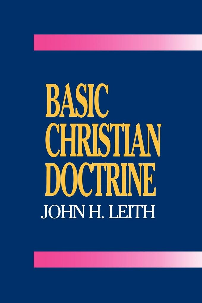 Basic Christian Doctrine als Taschenbuch