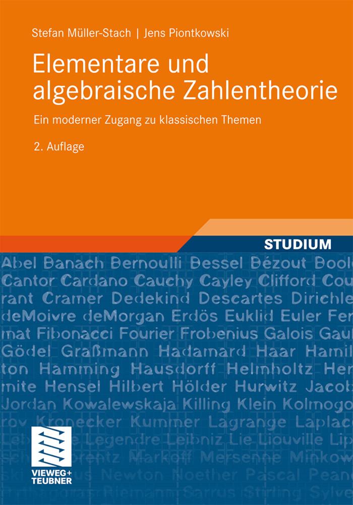Elementare und algebraische Zahlentheorie als Buch