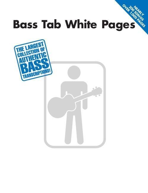 Bass Tab White Pages als Taschenbuch