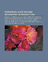 European auto racing biography Introduction als Taschenbuch von