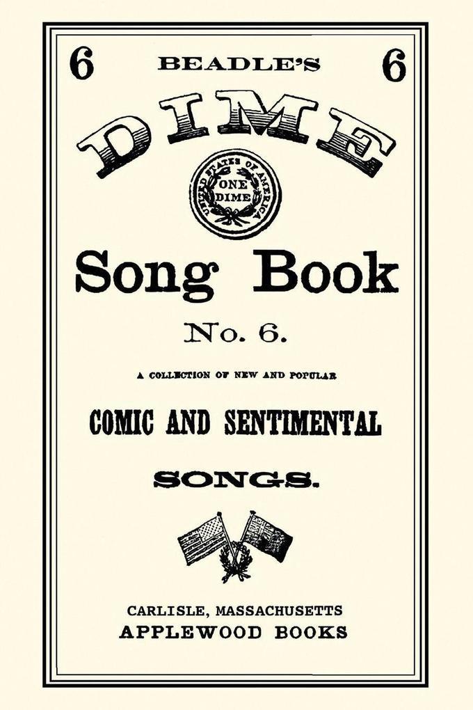 Dime Song Book #6 als Taschenbuch