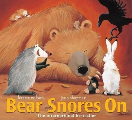 Bear Snores on als Buch