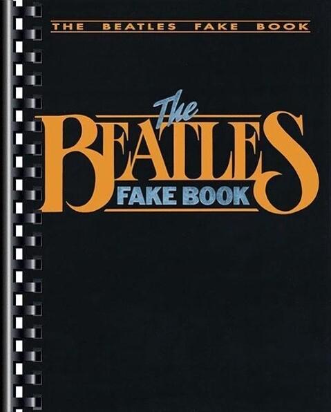 The Beatles Fake Book als Taschenbuch