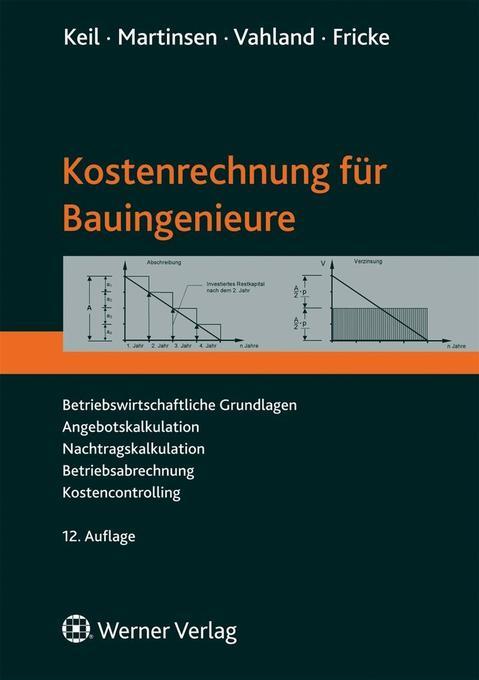 Kostenrechnung für Bauingenieure als Buch
