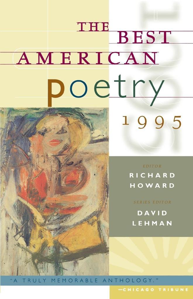 Best American Poetry, 1995 als Taschenbuch