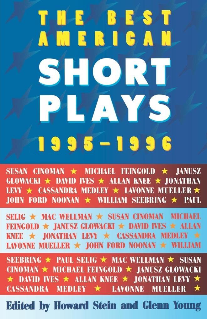 The Best American Short Plays 1995-1996 als Taschenbuch