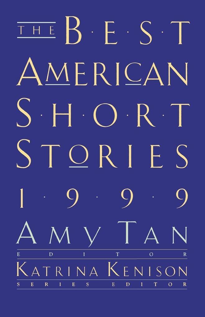 The Best American Short Stories als Taschenbuch