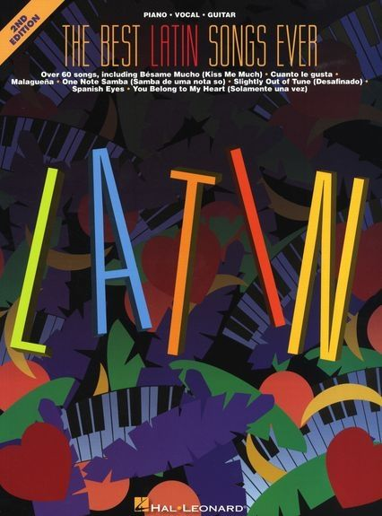 The Best Latin Songs Ever als Taschenbuch