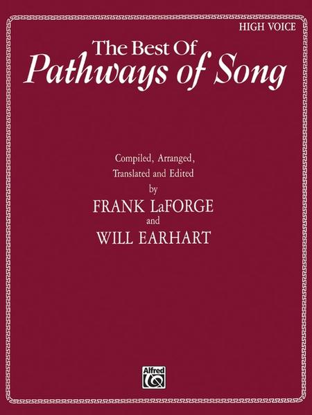 The Best of Pathways of Song: High Voice als Taschenbuch