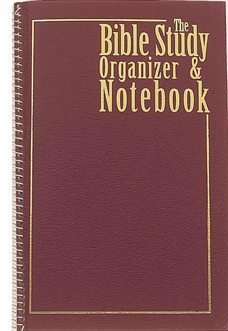 Bible Study Organizer & Notebook als Taschenbuch