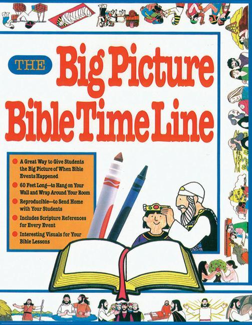The Big Picture Bible Timeline als Taschenbuch