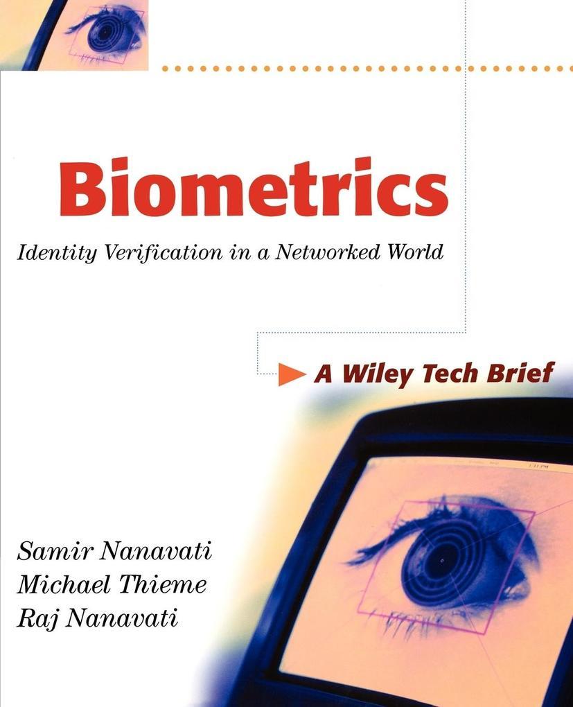 Biometrics als Buch