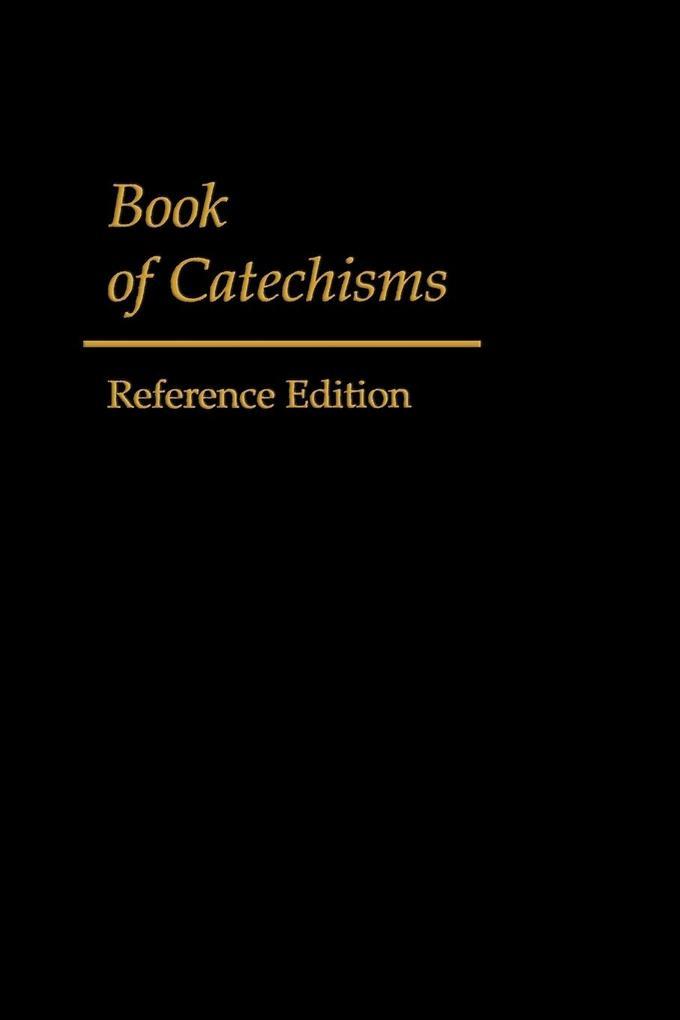 Book of Catechisms als Taschenbuch