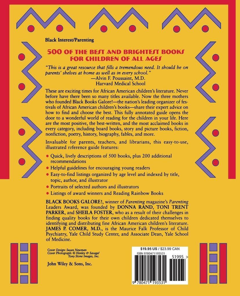 Black Books Galore's Guide to Great African American Children's Books als Taschenbuch
