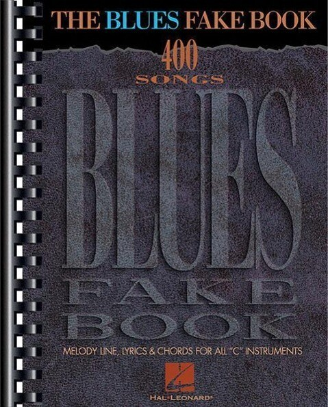 The Blues Fake Book als Taschenbuch