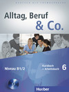 Alltag, Beruf & Co. 6. Kursbuch + Arbeitsbuch mit Audio-CD zum Arbeitsbuch