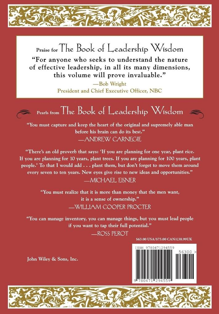 The Book of Leadership Wisdom als Buch