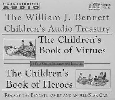 William J Bennett Children's Audio Treasury Cassette als Hörbuch