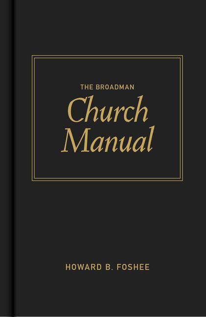Broadman Church Manual als Buch