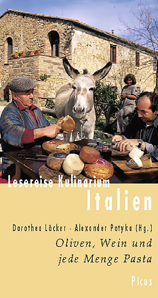 Lesereise Kulinarium Italien als eBook