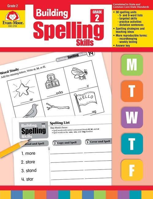 Building Spelling Skills Grade 2 als Taschenbuch