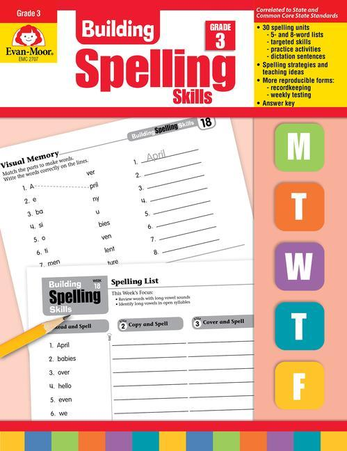 Building Spelling Skills, Grade 3 als Taschenbuch