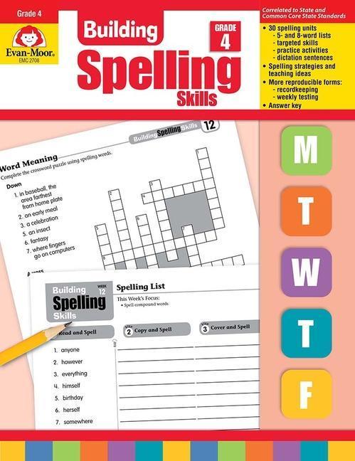 Building Spelling Skills Grade 4 als Taschenbuch