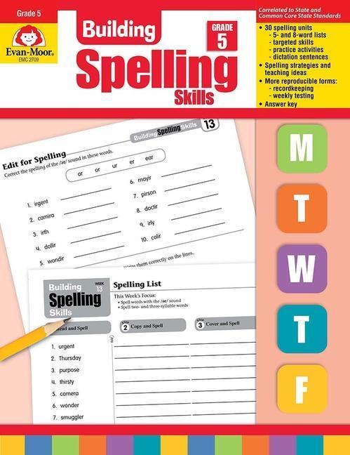 Building Spelling Skills Grade 5 als Taschenbuch