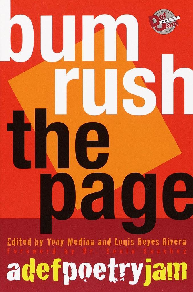 Bum Rush the Page: A Def Poetry Jam als Taschenbuch