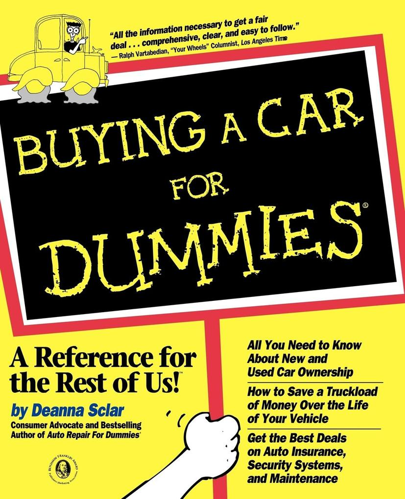 Buying a Car For Dummies als Taschenbuch