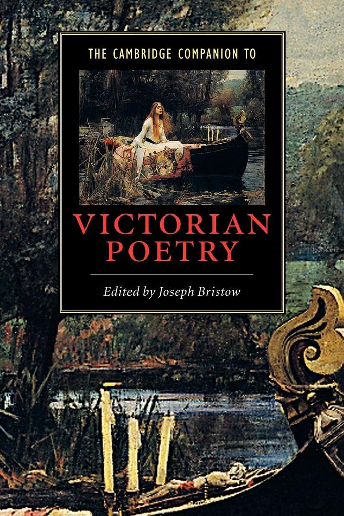 The Cambridge Companion to Victorian Poetry als Buch