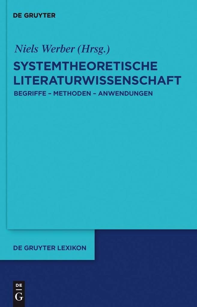 Systemtheoretische Literaturwissenschaft als eBook