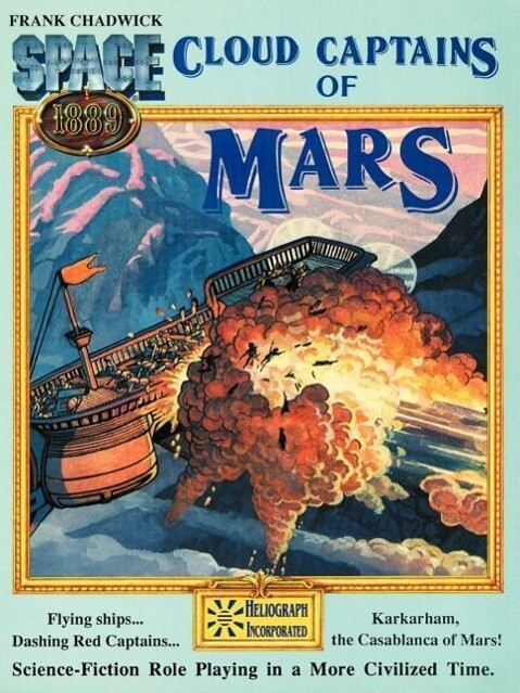 Cloud Captains of Mars & Conklin's Atlas of the Worlds als Taschenbuch