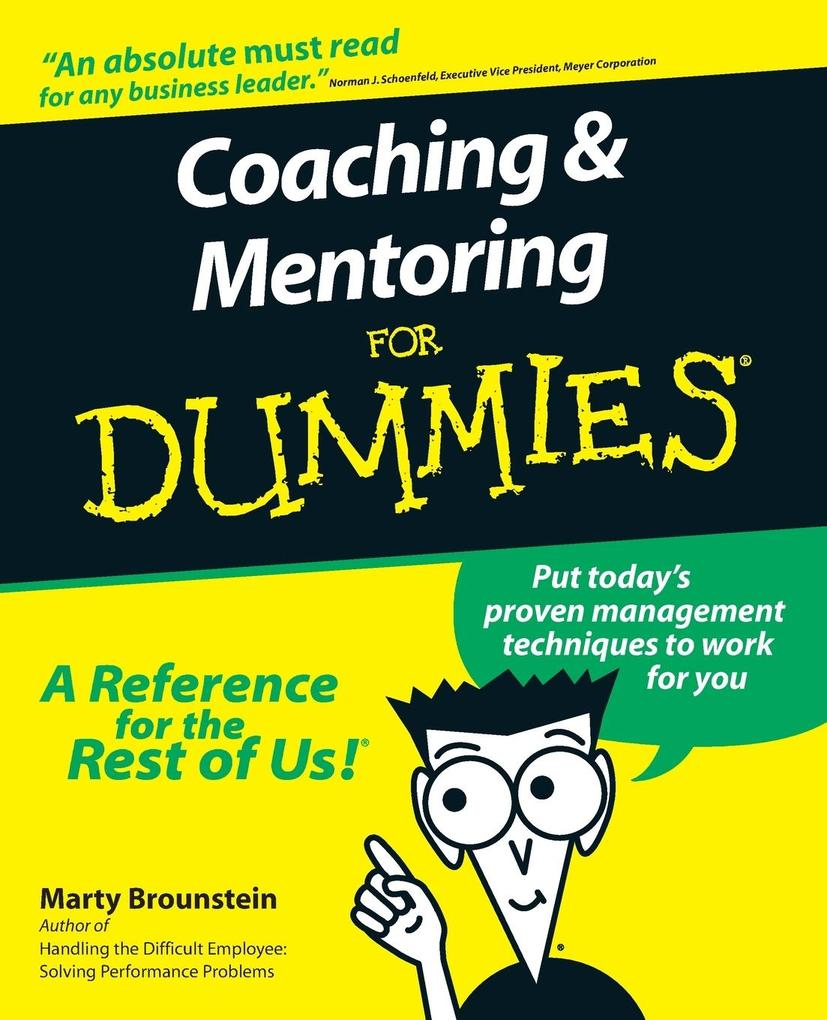 Coaching and Mentoring For Dummies als Buch