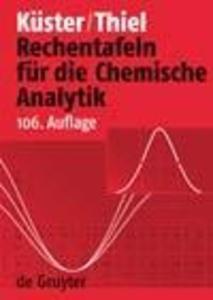Rechentafeln für die Chemische Analytik als eBook