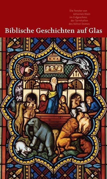 Biblische Geschichten auf Glas als Buch